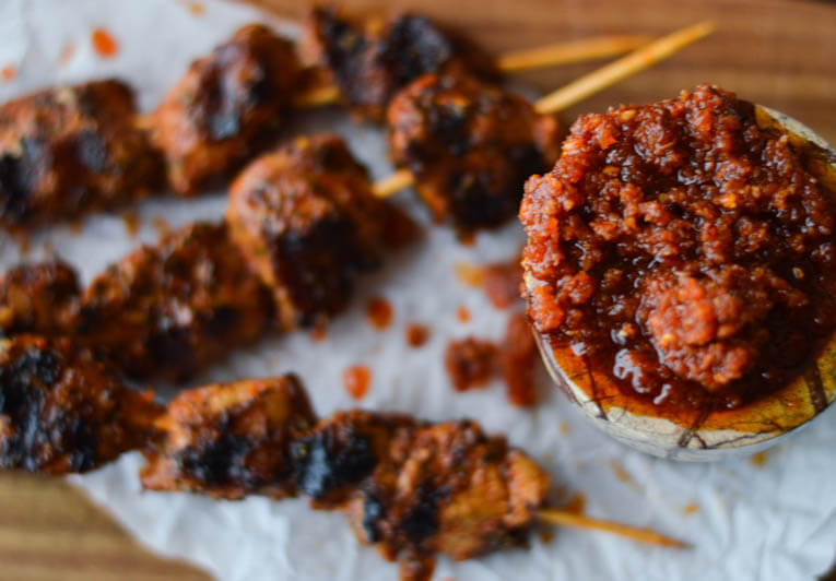 Spanish Pork Skewers