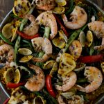 Seafood Paella - A Tapas Experience