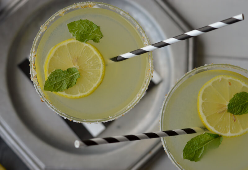 Lemoncello Margaritas
