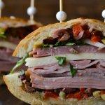 Muffuletta Sandwiche