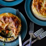 Drunken Chicken Pot Pie