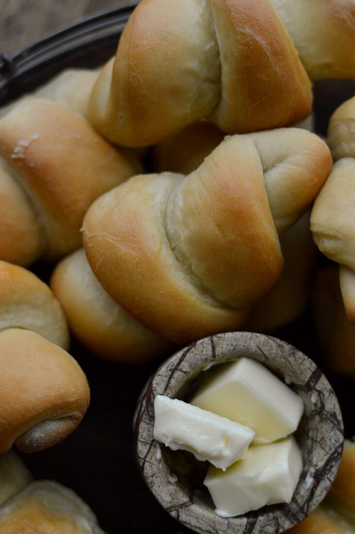 Homemade Butter Bread Rolls