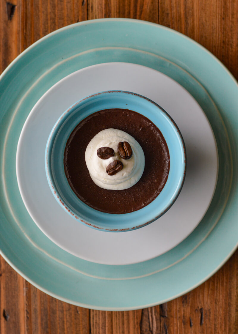 Keto Friendly Espresso Chocolate Pudding